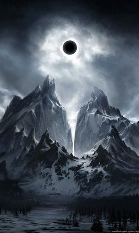 dark fantasy landscape cool wallpapers desktop background