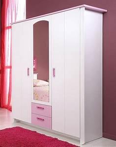 Kinderzimmer Schrank Weiß : kinderzimmer beauty 12 4 teilig wei rosa schrank bett kommode kaufen bei vbbv gmbh ~ Frokenaadalensverden.com Haus und Dekorationen