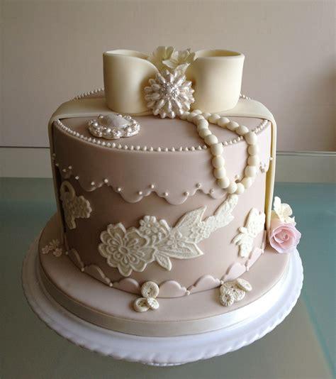 vintage hat box cake  great british bake