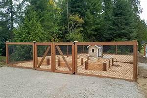 dog kennel with raised garden ajb landscaping fence With outdoor dog fence kennel