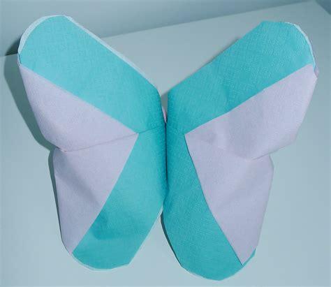 pliage de serviette 2 couleurs pliage serviette 2 couleurs papillon