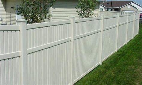 cost  vinyl fencing  wood project
