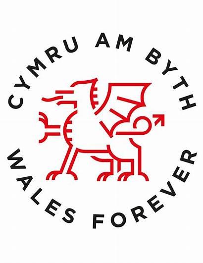 Welsh Cymru Wales Forever Dragon Tattoo Byth