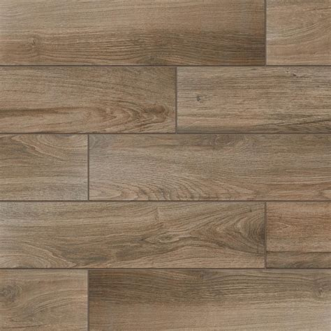 Daltile EverMore Sierra Wood 6 in. x 24 in. Porcelain