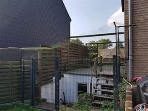 doppelstabmattenzaun katzensicher machen katzennetze With katzennetz balkon mit dreispitz hut garde