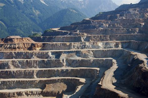 Open Pit by The Advantages Of Open Pit Mining Sciencing