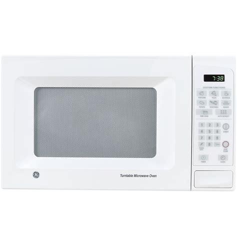 ge  cu ft capacity countertop microwave oven jeswj ge appliances