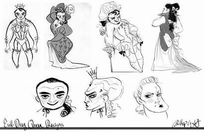 Character Queen Evil Drag Exploration