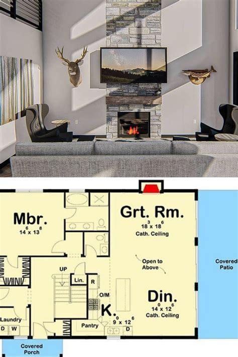 bedroom  story post frame barndominium floor plan loft floor plans barndominium floor
