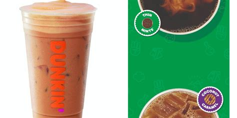 Got to try the original and mocha flavors of the new dunkin' donuts bottled iced coffee. Dunkin' Is Bringing Back Its Thin Mint And Coconut Caramel ...