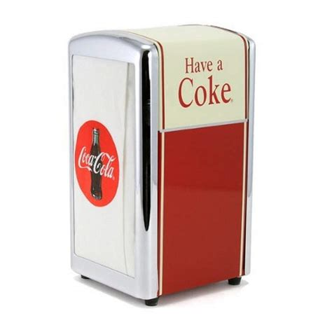 The cola dispenser automatically refills a new cup each time a player serves a cola to a customer. Coca Cola Napkin Dispenser CC301 - Officially Licensed ...