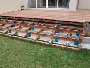 Pose Lame De Terrasse Composite Sans Lambourde : comment poser des lames de terrasse bois les solutions ~ Premium-room.com Idées de Décoration
