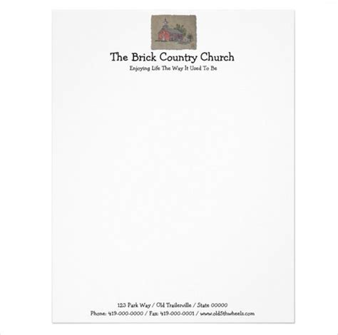 Although many samples and examples of this sort are available on the internet for free downloads, many of them tend the most preferred formats for these templates are word and excel. 11+ Church Letterhead Templates - Free Word, PSD, AI ...