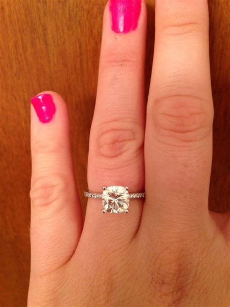 10 images about all things moissanite on pinterest