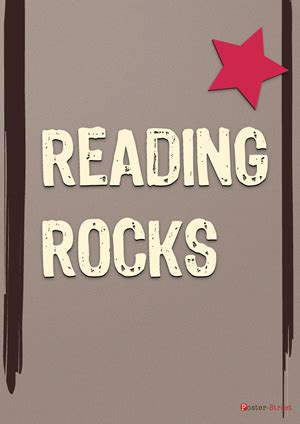 Read Poster Template by Reading Rocks