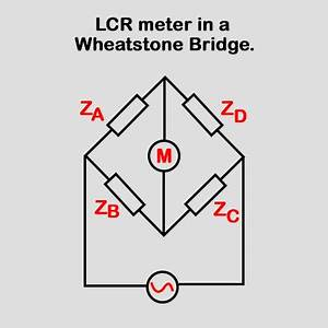 lcr meter working principle and uses With lcr bridge circuit