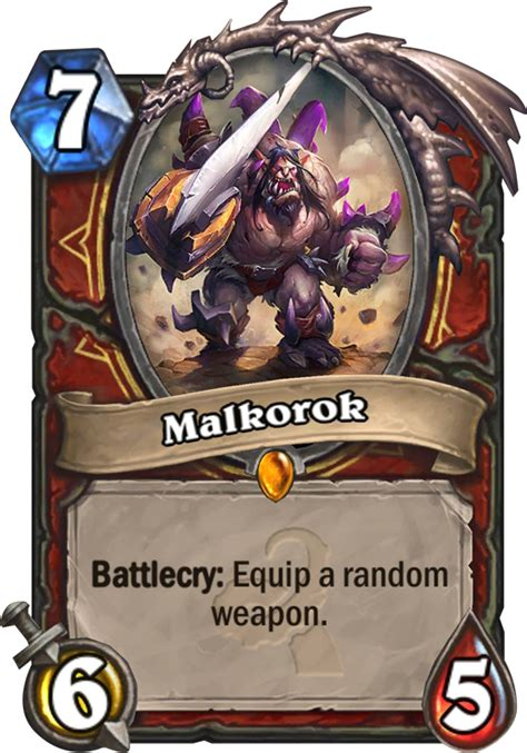 Top Decks Hearthstone Kft by Malkorok Hearthstone Card