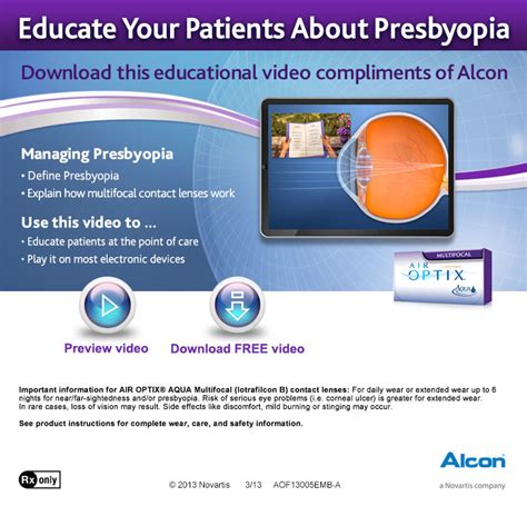 alcon research sinking pa great tool to educate your patients on prespyopia