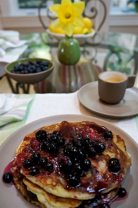 A wholesome brunch or breakfast treat, this raspberry coffee cake is made with buttermilk, whole wheat flour, and crowned with a streusel topping some are borrowed from my childhood (decorating gingerbread houses) and others from mr. Blueberry-Meyer Lemon Buttermilk Pancakes « Culinary Getaways Sherry Page
