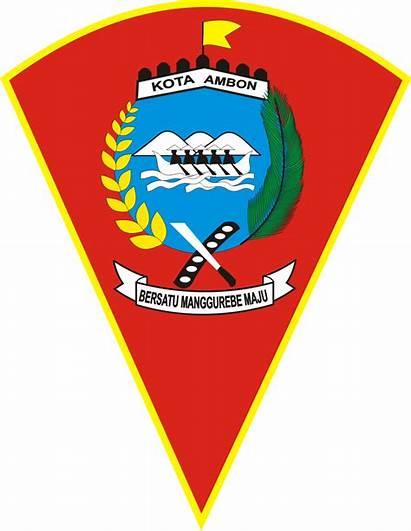 Ambon Kota Maluku Provinsi Lambang Pemerintah Kantor