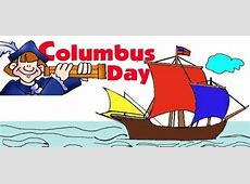 Happy Columbus Day US Parade Funny Quotes Clip Art Images