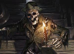 mtg manor skeleton from innistrad set by eric deschs mtg of magic the gathering