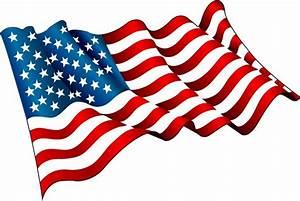 Waving American Flag Vector Free Download | www.pixshark ...