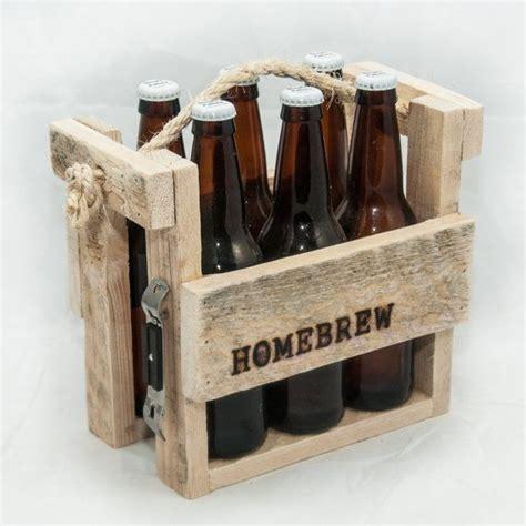 Maennerhandtasche Biertraeger Aus Holz Selber Basteln by S Day Gift Caddie Tote Rustic By