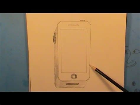 how to a phone how to draw a smartphone step by step