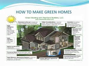 Environmentally Friendly House Plans Ppt Green
