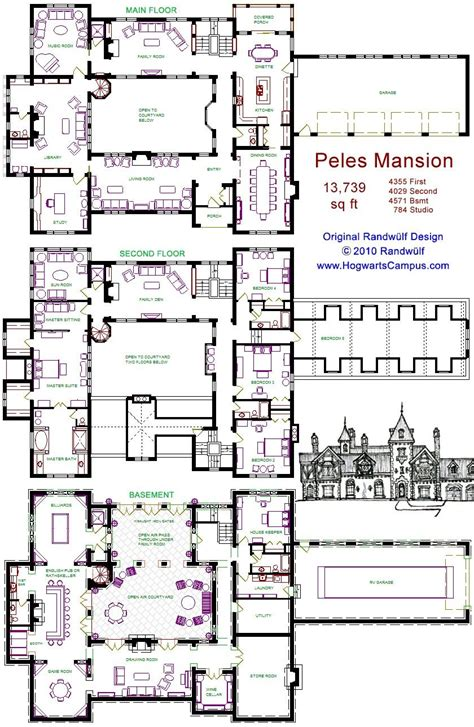 Pin by Gianna Bolar on House&plan in 2020 Mansion floor