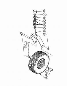 Swisher T14560a Mower Attachment Parts