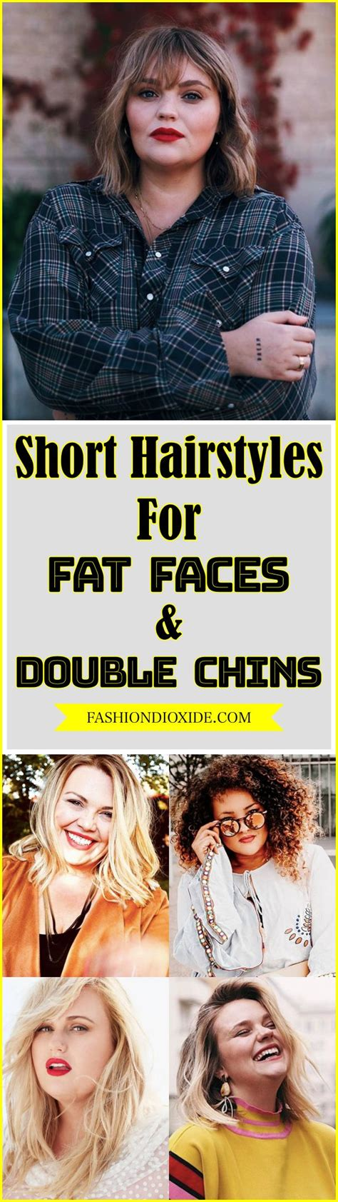 100 short hairstyles for fat faces double chins hair hairstyles for fat faces short hair