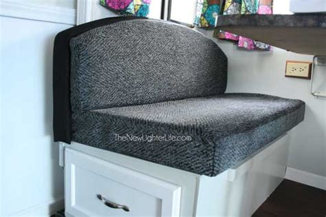 Reupholster Rv by How To Refinish An Booth Dinette The New Lighter