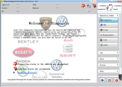 vw diagnose software vw audi vag odis 4 3 3 software new functions