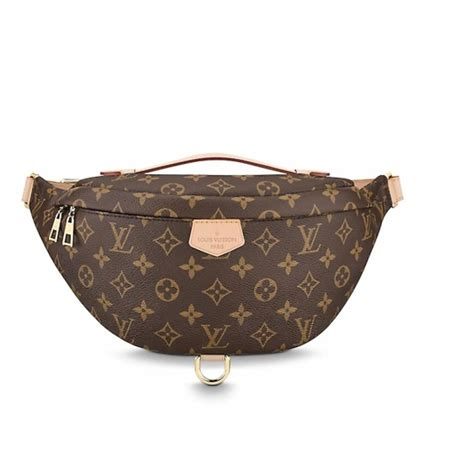 louis vuitton bumbag monogram brown canvas cross body bag