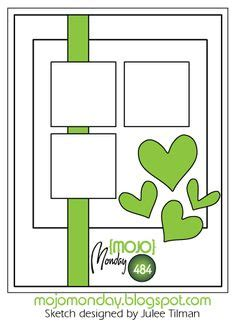 mojo monday sketches images card sketches