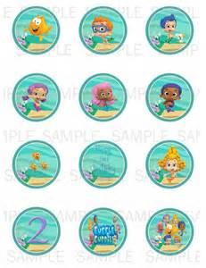 printable guppies cupcake emmaspartycreations