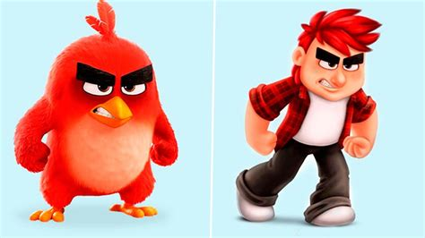 Cartoon Characters Human Version! New