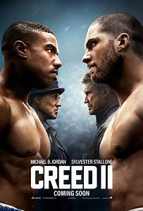 Creed 2 Poster Sees Rocky and Adonis Against the Drago ...