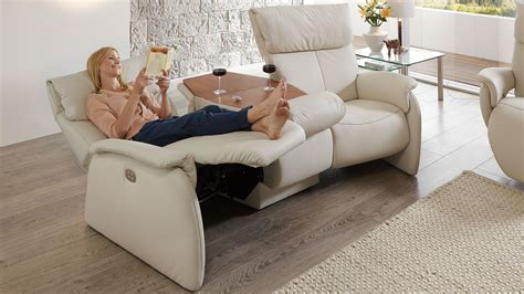 trapez sofa mit relaxfunktion zuhause image idee