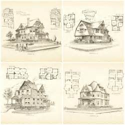 free house blueprints and plans remodelaholic 20 free vintage printable blueprints and diagrams