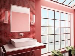 Prix Beton Cire : b ton cir sur du carrelage existant mural un mur ou de ~ Premium-room.com Idées de Décoration