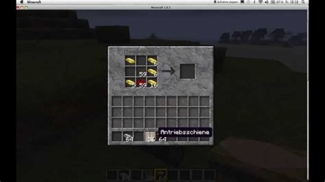 Wie Craftet Man Schienen In Minecraft Youtube