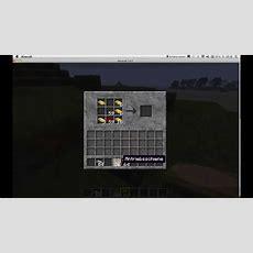 Wie Craftet Man Schienen In Minecraft Youtube