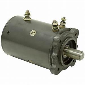 12 Vdc 8000 Rpm Winch Motor