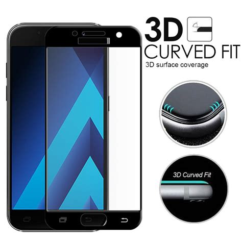 samsung a5 2017 tempered glass screen protector 2017 3d edge curved cover tempered glass screen