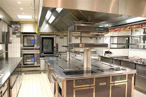 diseno de cocina profesional area de coccion