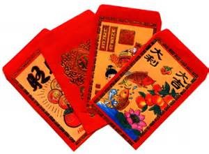 Vietnamese New Year Red Envelopes