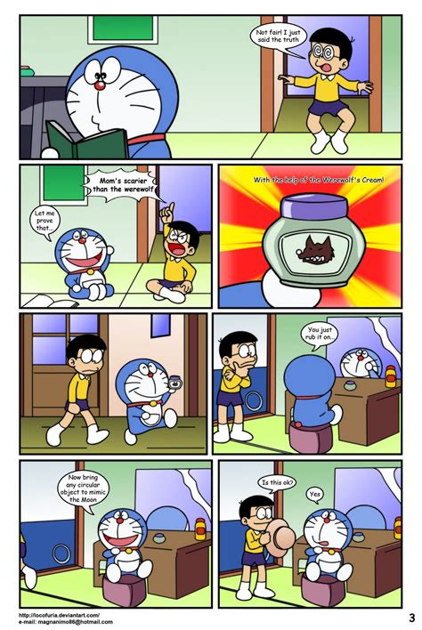 Doraemon Tales Of Werewolf Free Cartoon Porn Comic Hd